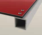 Aluminium composiet alutechbond schroeven